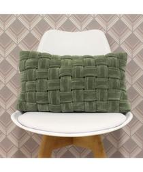 Kross sage cotton weave cushion 50cm