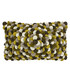 Petals khaki wool-blend cushion 50cm Sale - riva paoletti Sale