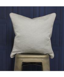 Putney silver cushion 45x45cm