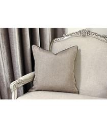 Bellucci light graphite cushion 45cm