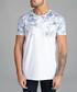 White floral printed T-shirt Sale - dead legacy Sale