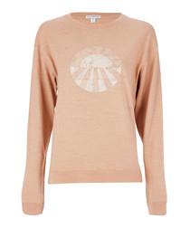Sunrise pure cotton knit jumper