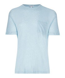Capri pigment linen & cotton T-shirt
