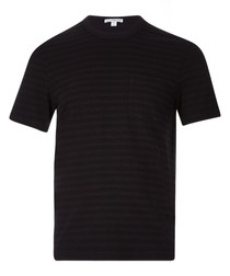 Carbon cotton blend T-shirt