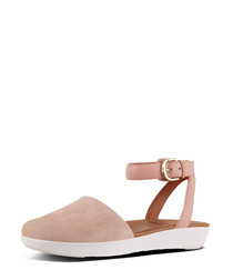 Cova leather closed-toe sandals