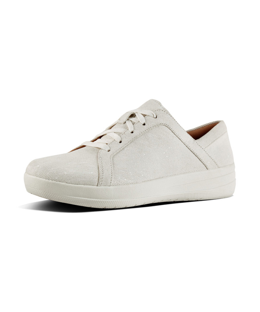 f-sporty white lace up sneakers Sale - fitflop