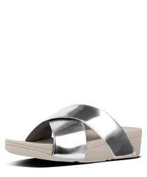 Lulu mirror cross sandals