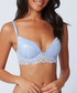 Cornflower lace plunge bra Sale - boux avenue Sale
