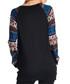 Stag multi-colour long sleeve top Sale - Vera Dolini Sale