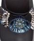 Black cowhide detail clogs Sale - anya hindmarch Sale