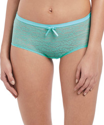 Freya Fancies aquamarine hipster briefs
