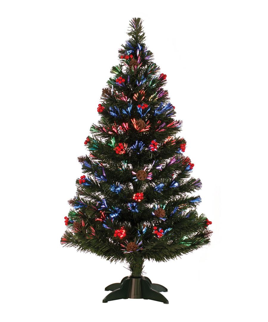 Pre-lit berry & cone tree 90cm Sale - Festive