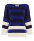 Triple-tone cashmere blend jumper Sale - damsel in a dress Sale