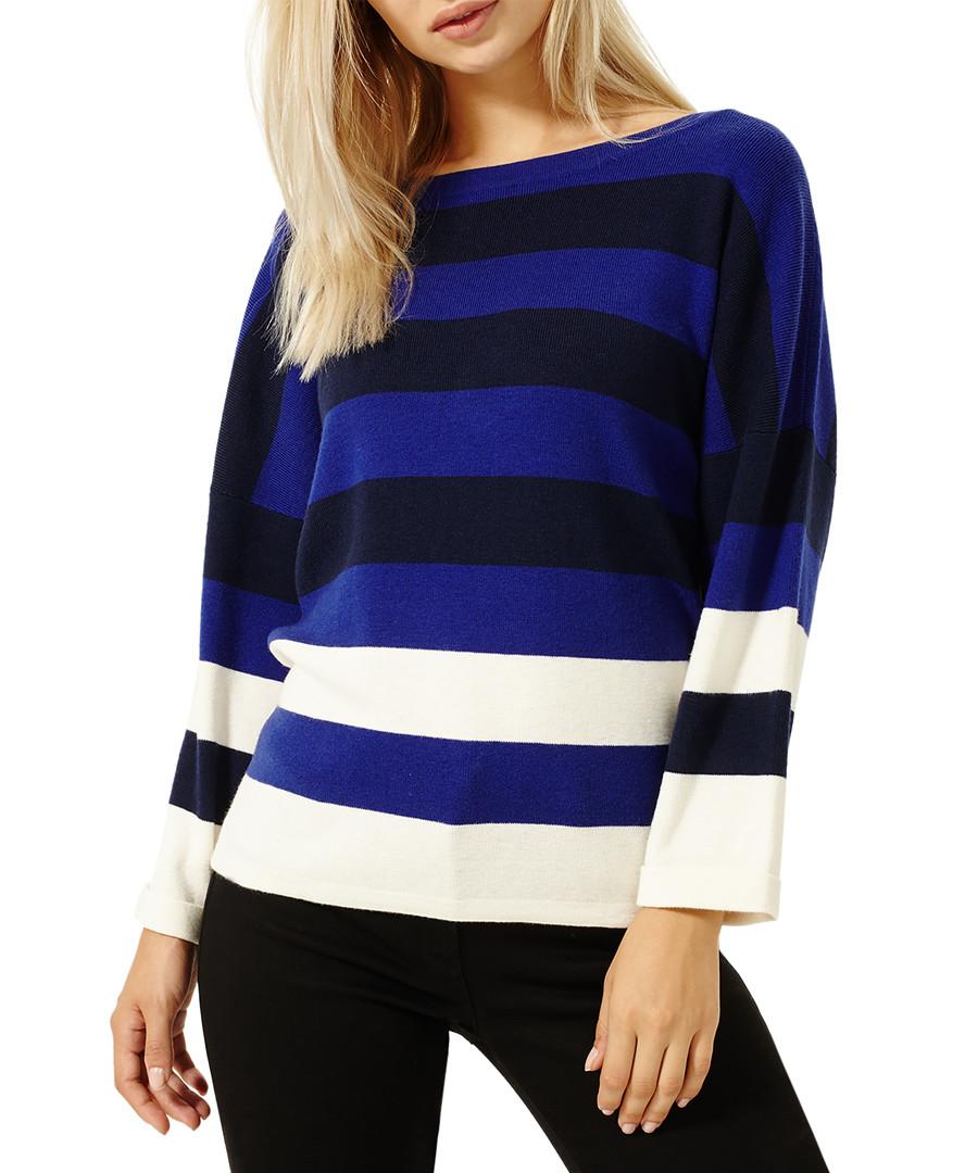Triple-tone cashmere blend jumper Sale - damsel in a dress