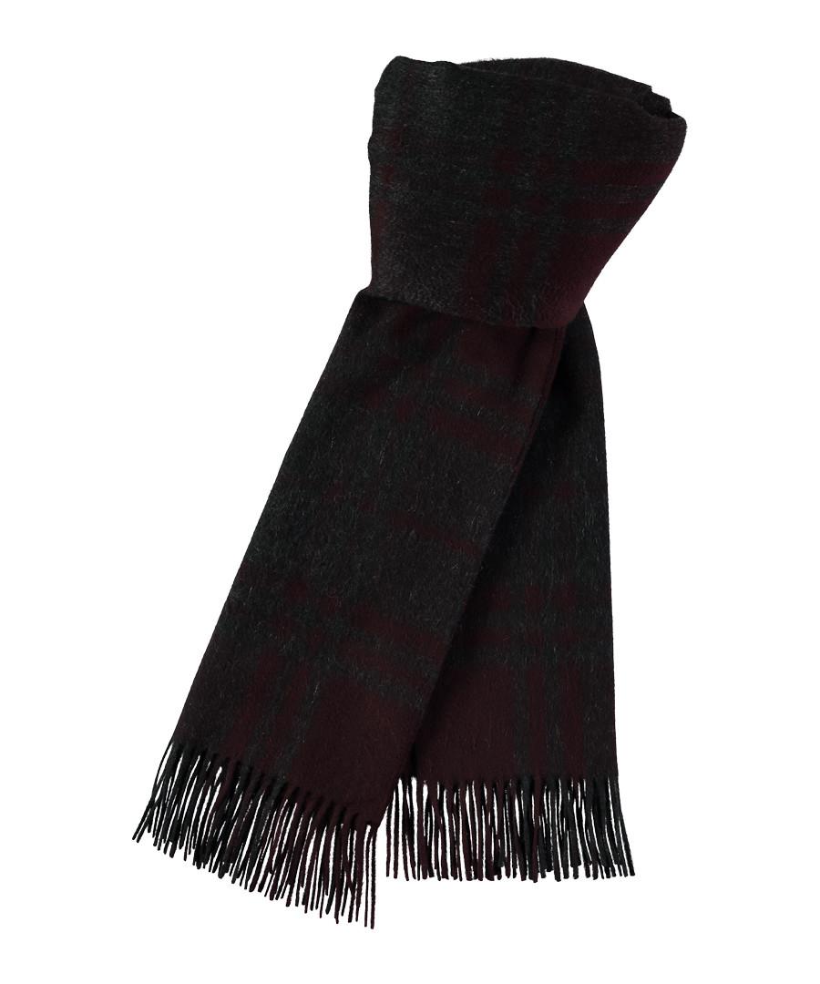 Brown pure cashmere scarf Sale - joshua ellis