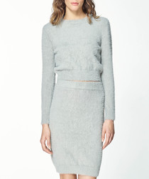 Grey long sleeve jumper