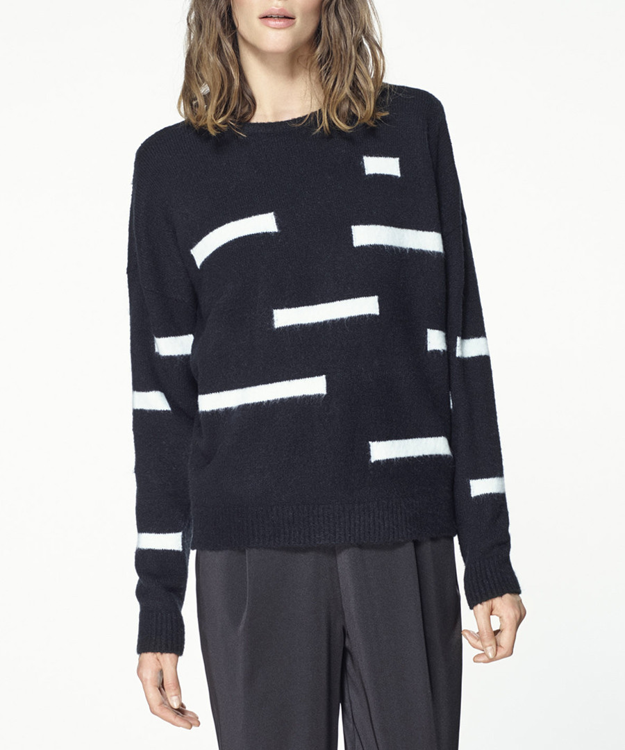 Monochrome patterned jumper Sale - paisie