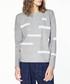 Grey monochrome patterned jumper Sale - paisie Sale