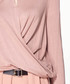 Blush keyhole wrap top Sale - paisie Sale