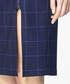 Multi checked midi skirt Sale - paisie Sale