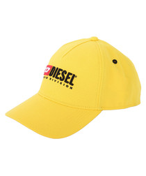 Yellow logo baseball cap
