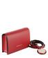 Minidollaro red grained crossbody bag Sale - EMPORIO ARMANI Sale