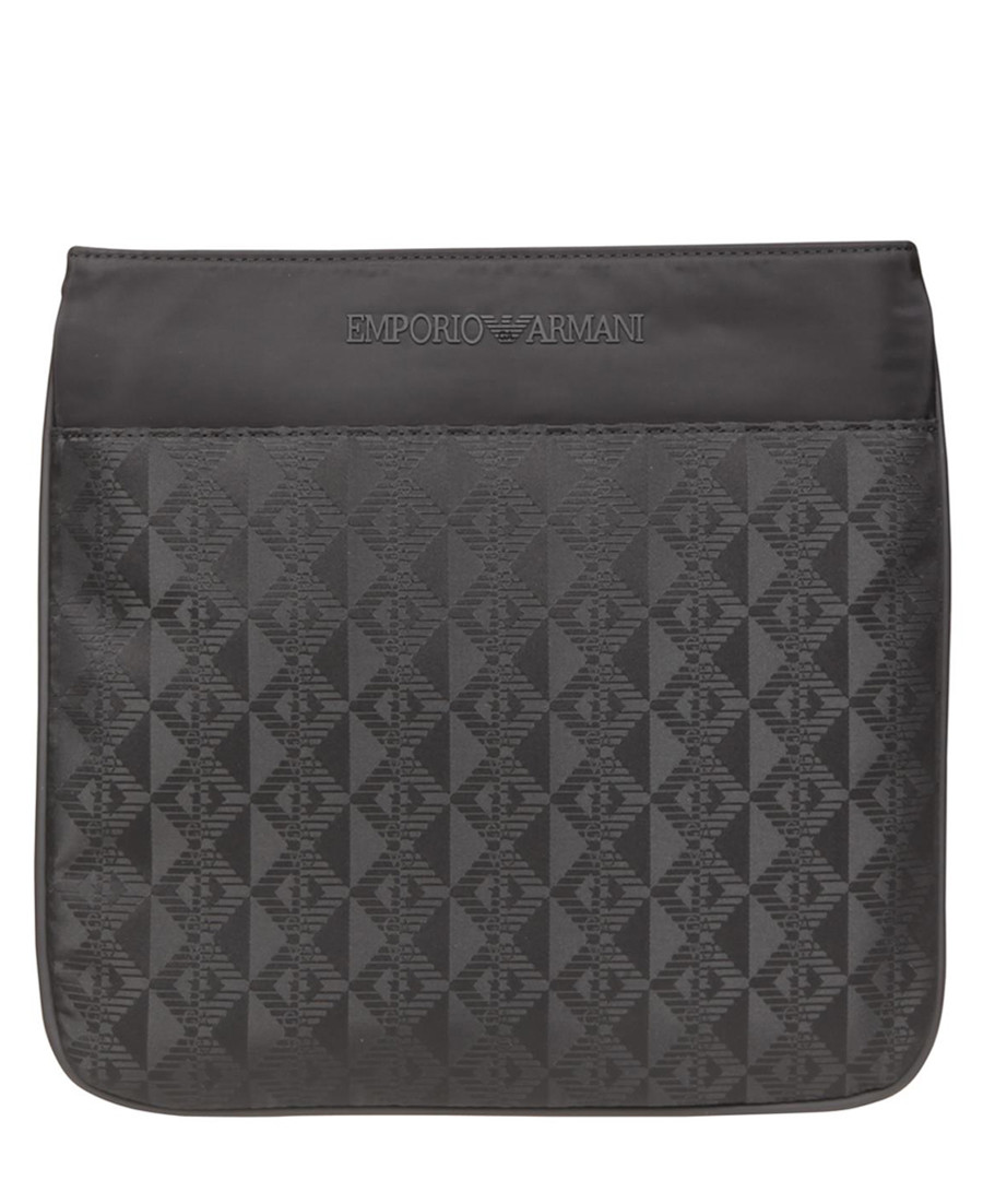 Black jacquard cross body Sale - EMPORIO ARMANI