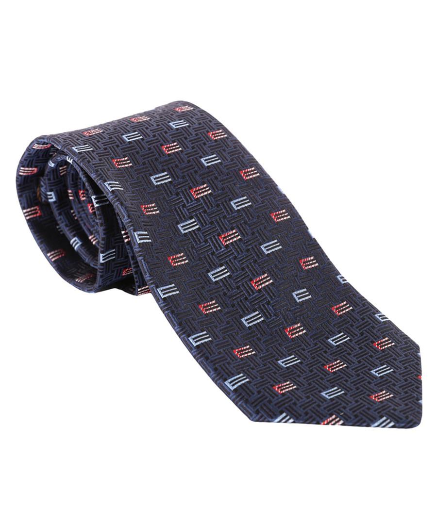 Navy pure silk slim tie Sale - ETRO
