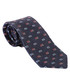 Navy pure silk slim tie Sale - ETRO Sale