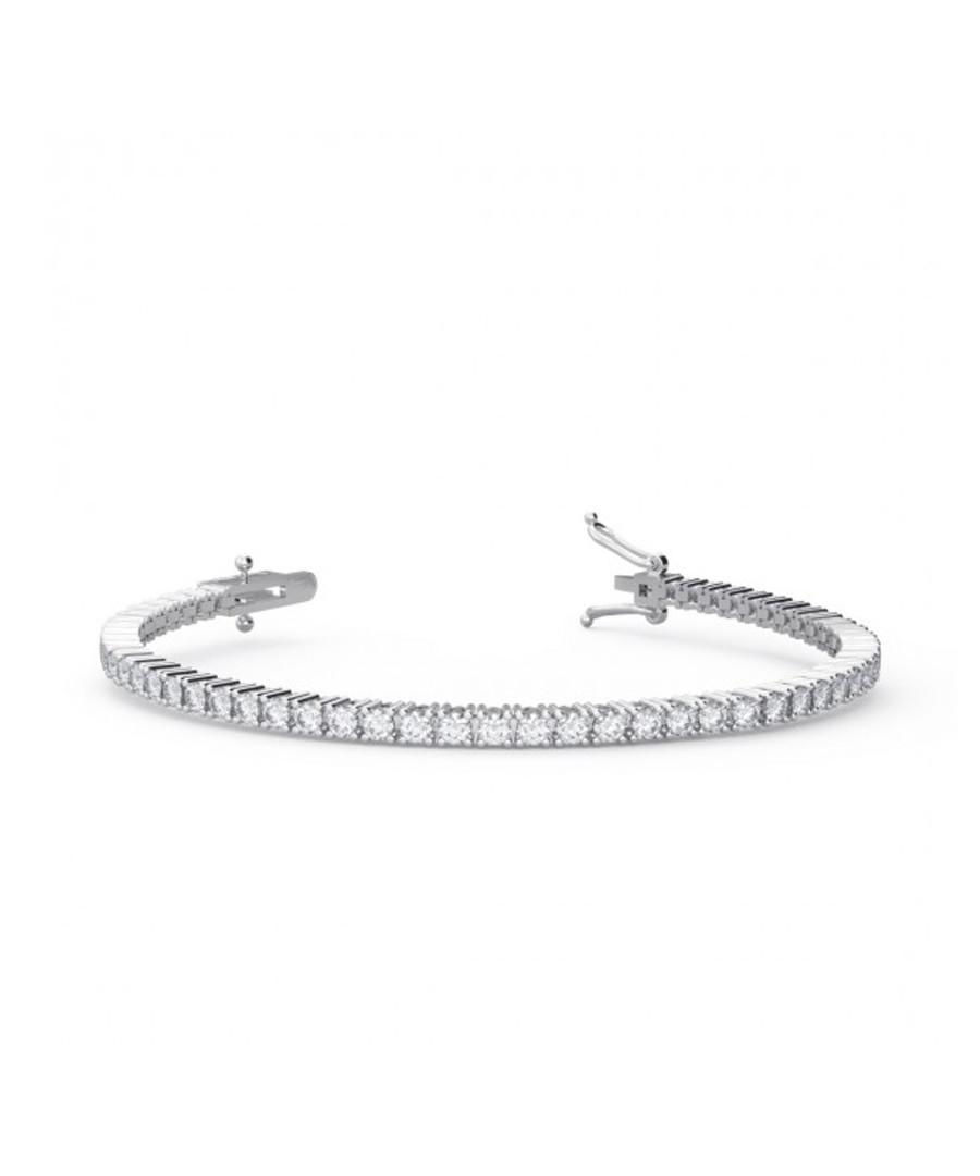 2.5ct diamond & 9k white gold bracelet Sale - buy fine diamonds