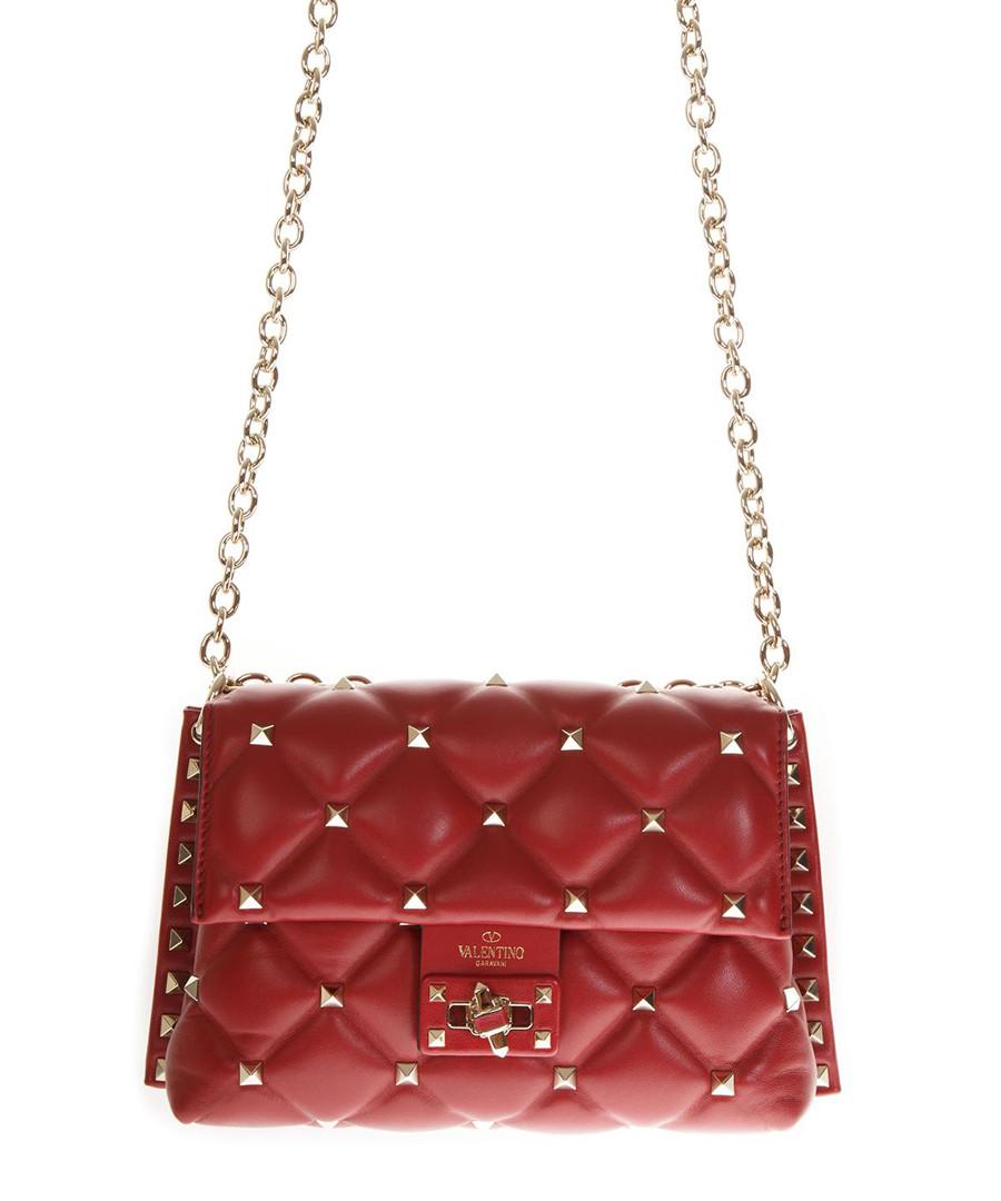 Medium Candy red leather crossbody Sale - valentino garavani