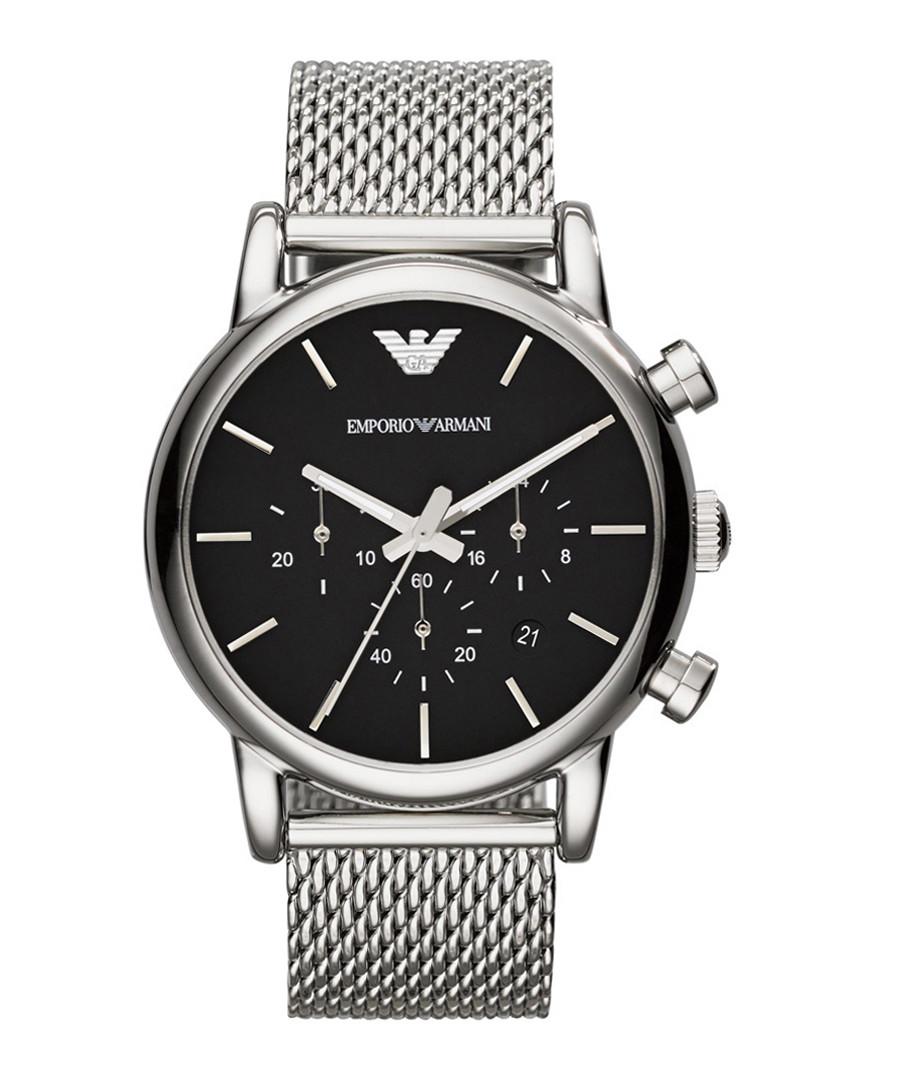 Stainless steel mesh strap quartz watch Sale - Emporio Armani
