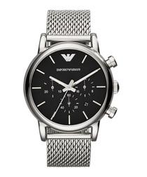 Stainless steel mesh strap quartz watch