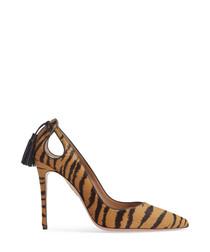 Forever Marilyn animal print stilettos