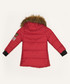 Girls' red hooded quilted coat Sale - Dewberry Sale