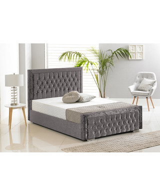 Discounts from the Luxury Crushed Velvet Beds sale   SECRETSALES