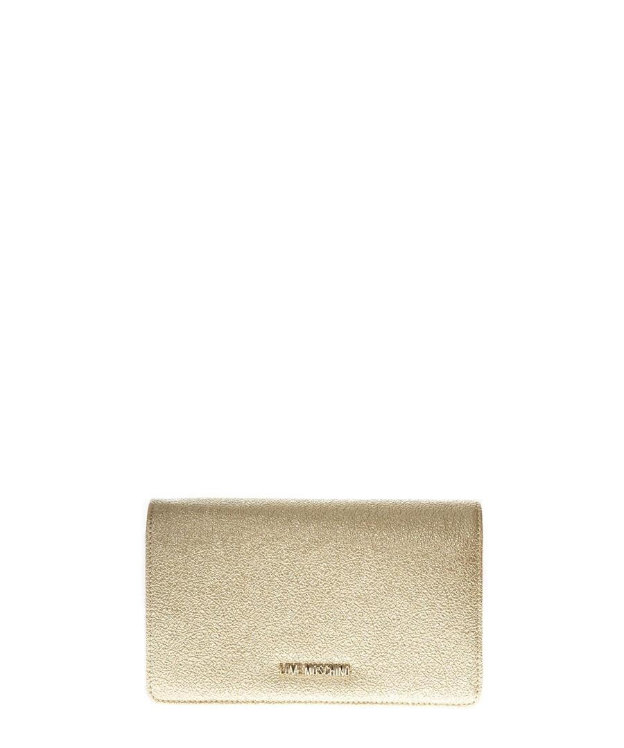 gold shoulder bag Sale - LOVE MOSCHINO