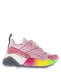 Eclypse rainbow print sneakers