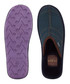 Dark blue & green check logo slippers Sale - ted baker Sale