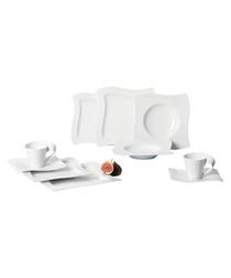 30pc New Wave basic porcelain set