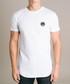 White pure cotton branded T-shirt Sale - criminal damage double x Sale