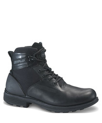 Ramble20 black leather lace-up boots