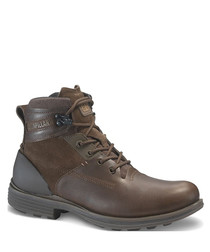 Ramble20 brown leather lace-up boots