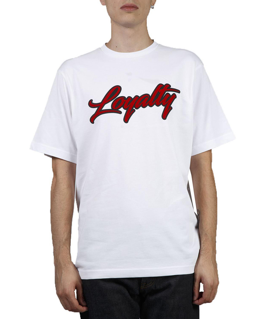 Loyalty white pure cotton T-shirt Sale - HILFIGER COLLECTION