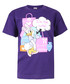 Daisy Duck purple pure cotton T-shirt Sale - kids character club Sale