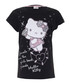 Hello Kitty black pure cotton T-shirt Sale - KIDS CHARACTER CLUB Sale