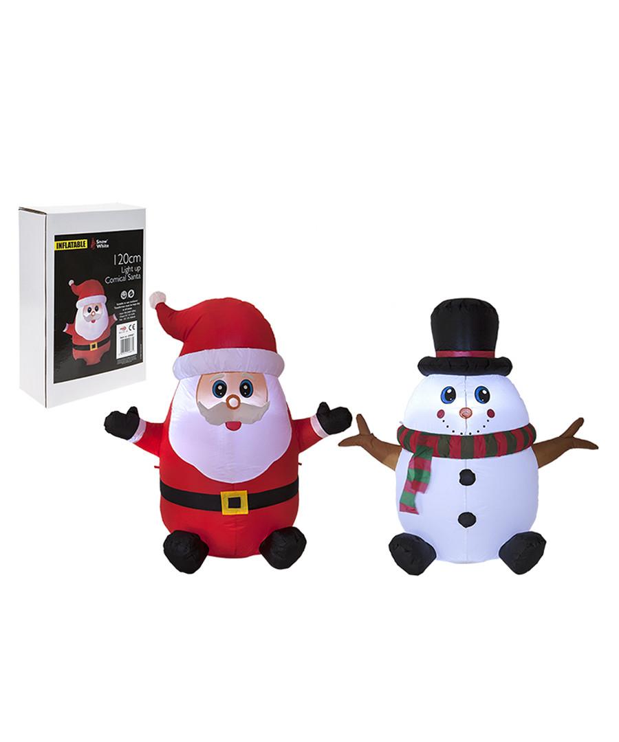 Discount Inflatable snowman & santa 120cm | SECRETSALES
