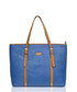 The Signage blue leather tote bag Sale - Paul Costelloe Sale