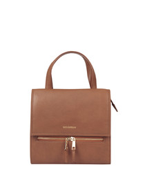 The Gia tan leather shoulder bag