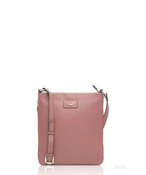 The Laterale pink leather crossbody bag